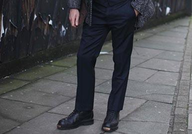 时尚修身斜纹裤、现代感运动裤和改良款复古裤型是重要的裤装趋势,在本季时装周的秀场和街头都已兴起。