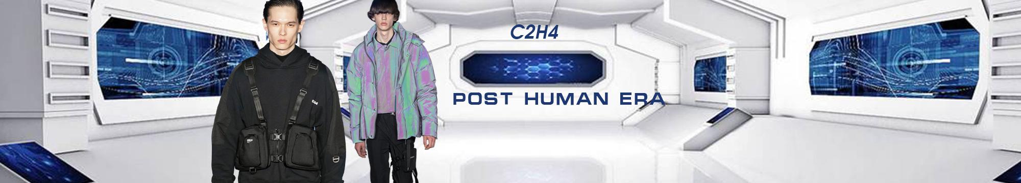 后人類時代--C2H4 Los Angeles男裝T臺分析