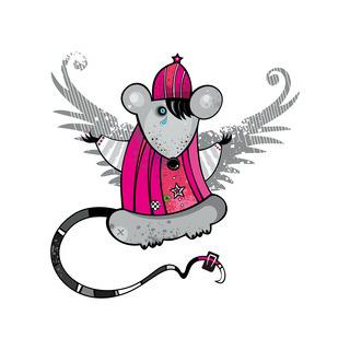 矢量圖 eps 局部圖案 老鼠