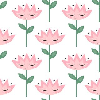 矢量圖 eps 嬰幼童花型 滿身圖案 休閑風 可愛卡通