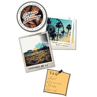 矢量图 eps TA12 插画 局部图案 字母 图文结合 照片 徽章 便条 热带风格 休闲风