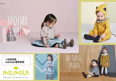 "moimoln来源于芬兰语""moi""""你好""和瑞典语""moln""""云朵"",(你好,云朵),创于韩国的北欧风品牌。"