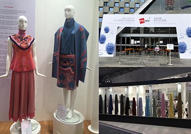 """18/19秋冬SPINEXPO上海国际纱线展,""""纤维是纺织的基石,是服装演进的原点"""",18/19秋冬季针法推陈出新,在原有的针法基础上加以变化、创新。织物的紧密度是趋势的关键,高密度的织物增加保暖度的同时,也将毛织产品推向了另一个高度,更趋向于梭织化、成衣化。丰富的表面肌理结构强化视觉、触觉双重感官,极尽精致与高品质。"""
