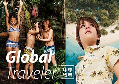 2019春夏童裝主題色彩趨勢--環球旅者