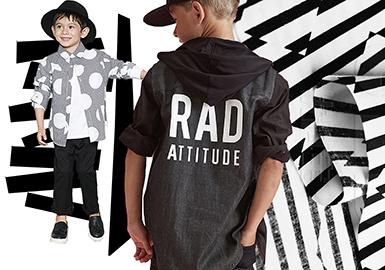 從廓形、圖案、細節三方面分析織里市場春夏男童襯衫流行趨勢,助力設計師春夏男童襯衫款式的開發。