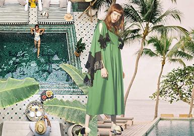 2019春夏女裝色彩預測--綠色系