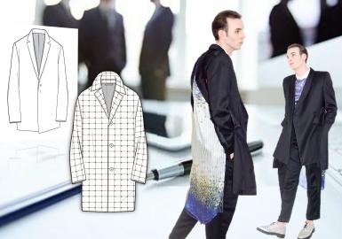2019春夏男裝組貨搭配商務時尚--外套
