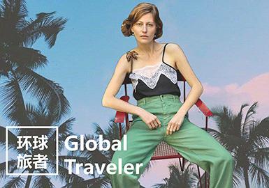2019春夏女装年轻主题企划--环球旅者
