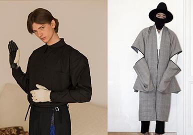 """现代时装的廓形朝着简单、宽松舒适的方向发展,无论是设计师还是消费者,都对""""大衣服""""的上身效果充满期待。"""