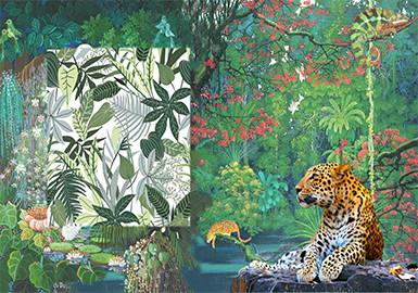 2020春夏童装图案趋势预测--雨林探秘