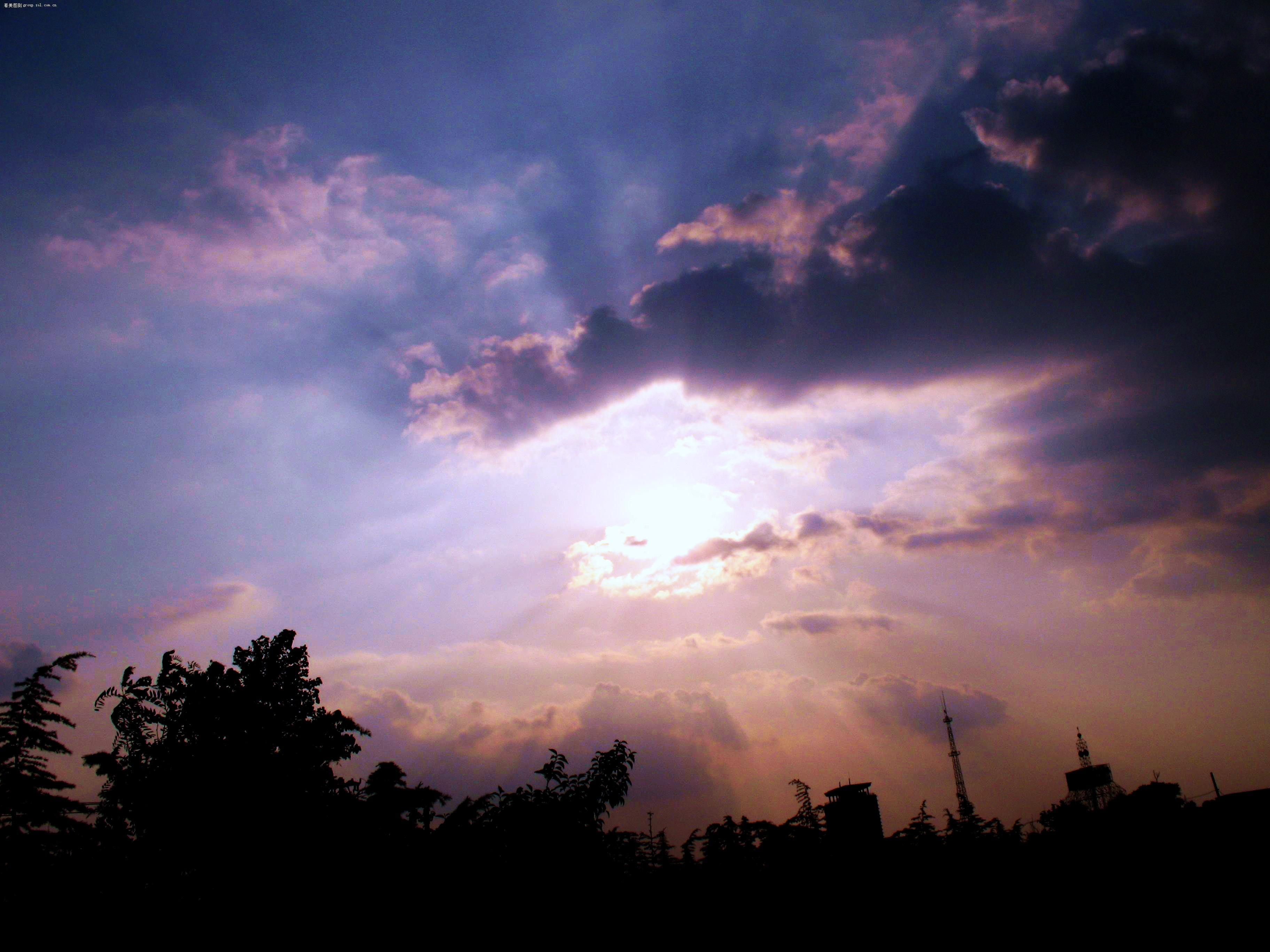 我愿化解你心中的乌云