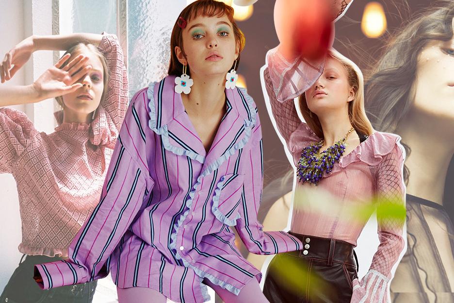 2020春夏女装工艺趋势预测--软萌木耳边