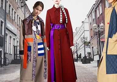時尚又御寒的風衣外套是四季都必備的,是近二三十年來比較流行的服裝。風衣單穿大多可以穿出風衣的甜美新風貌,搭配長褲則營造出中性味道。一千個女人眼里,有一千件不一樣的風衣,但核心永遠一樣,就是展現女性獨特的魅力。