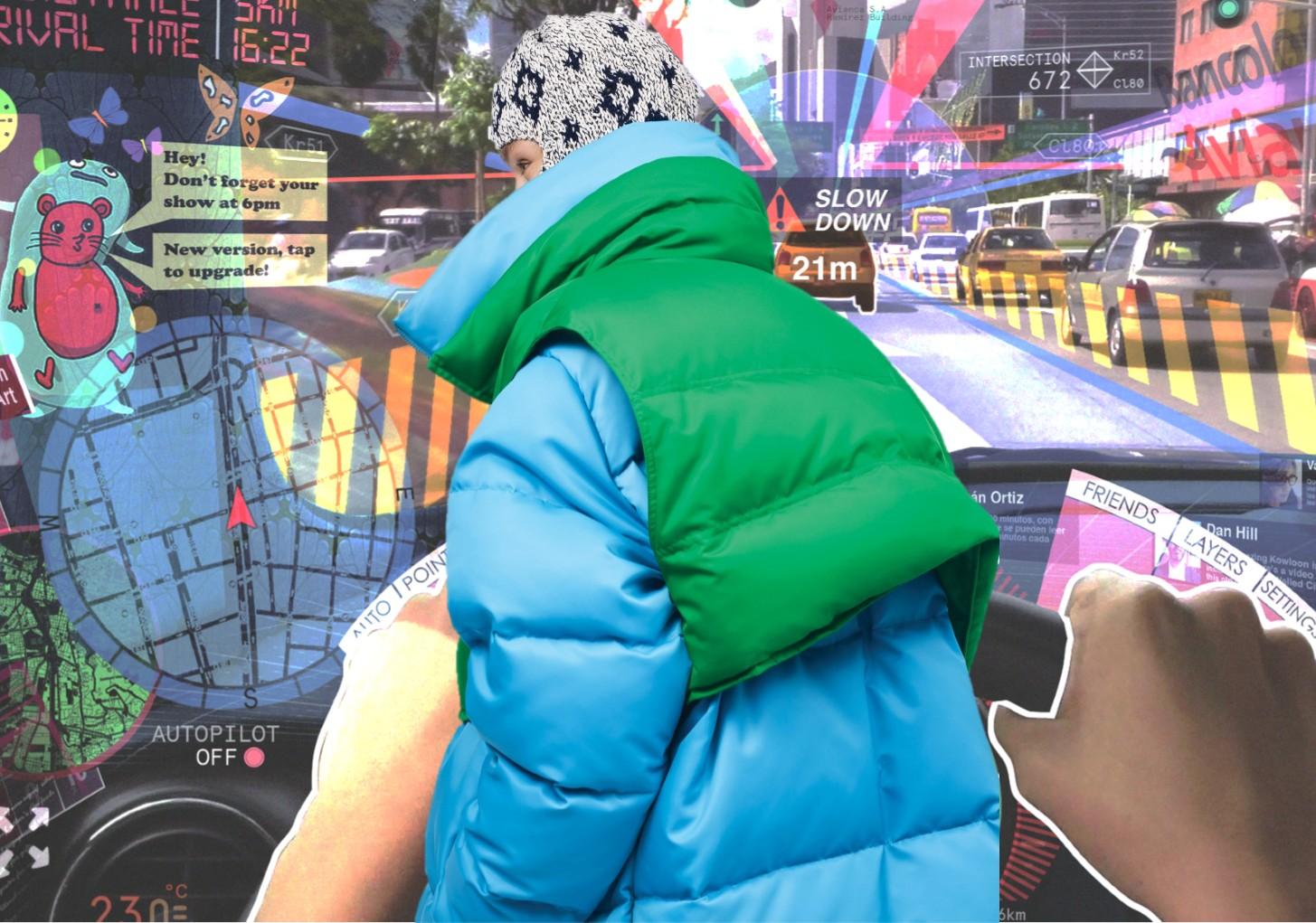 """19/20秋冬女装觉醒主题羽绒服面料--""""玩""""转色彩"""