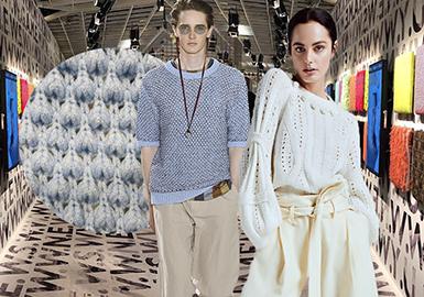 Pitti Filati展会的魅力在于它是全球最创新、最奢华纱线的展台,能吸引来自世界各地的采购前来寻找灵感或商谈合作事宜。2019/20秋冬的Pitti Filati展会观展人数依然稳定,同比增加了2%,达到5,500人,对纺织界而言这是生动而繁忙的一季。虽然该展会规模仍然相对较小,但它绝对是买手们不愿意错过的展会之一。
