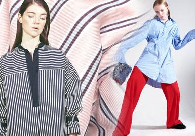 2020春夏女装衬衫面料趋势--棉感线迹