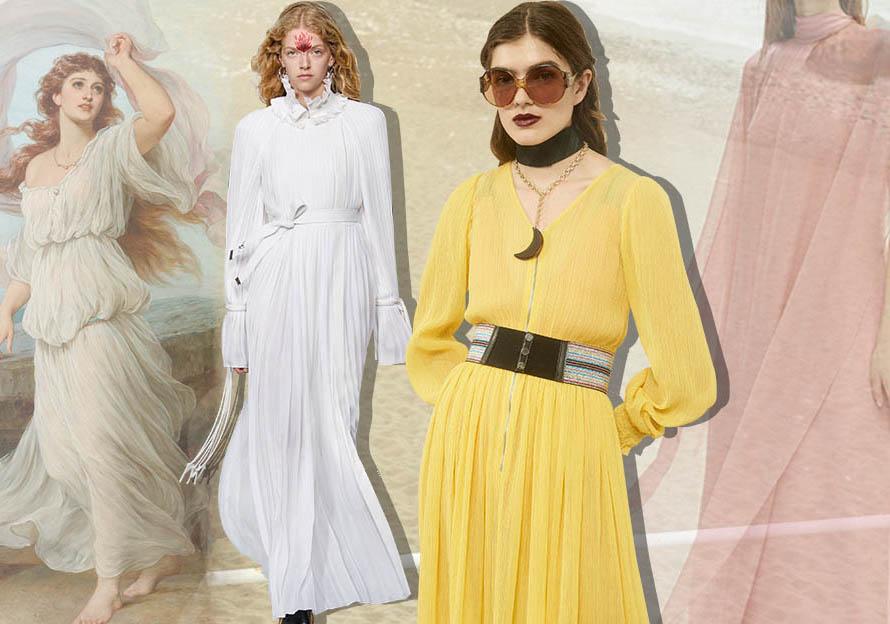 2020春夏女裝連衣裙廓形趨勢--女神的新衣
