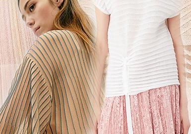 2020春夏女装毛衫针法解读--立体层次