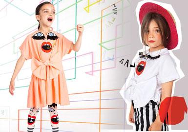 2020春夏童装天然棉质地面料趋势--奇趣玩乐