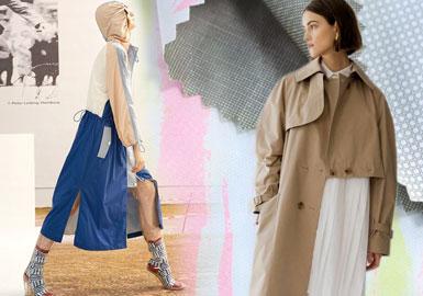 2020春夏女装风衣外套面料趋势--风衣新概念