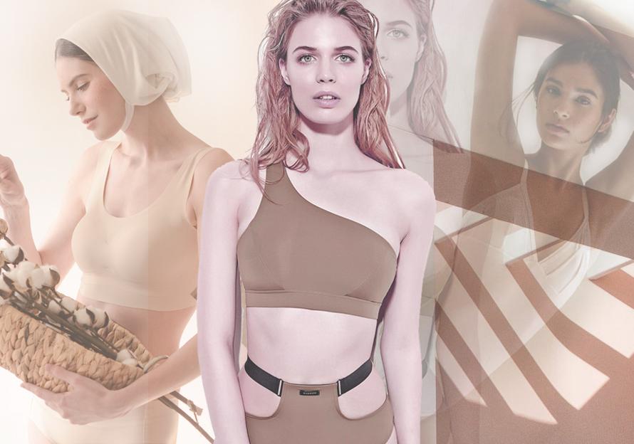 2020春夏女装内衣廓形趋势预测--休闲运动型文胸