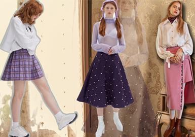 2020春夏女装廓形趋势--半裙主义
