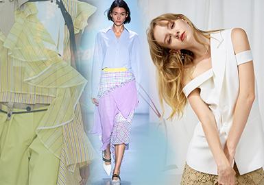 2020春夏女装细节工艺趋势预测--差异对比