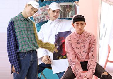 2020春夏男装廓形趋势预测--街潮衬衫