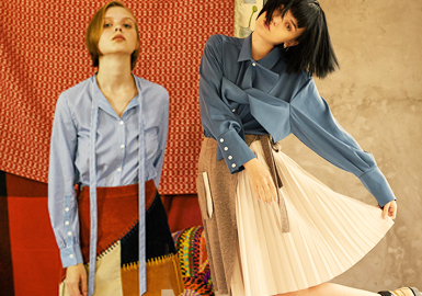 衬衫作为时尚潮流搭配,它从未在时尚趋势中落伍过,它能轻松的应对各种场合充满时尚气息,本季设计师品牌的衬衫收腰设计呈现新意,巧用布料结构寻求改变。