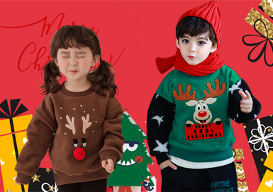 天降大雪,一片素白;不爱银装素裹的冬天,却偏爱冬天里温暖的圣诞,红色的圣诞老人,绿色的圣诞树,可爱的驯鹿,承载了孩子们对整个冬日的憧憬与期待。