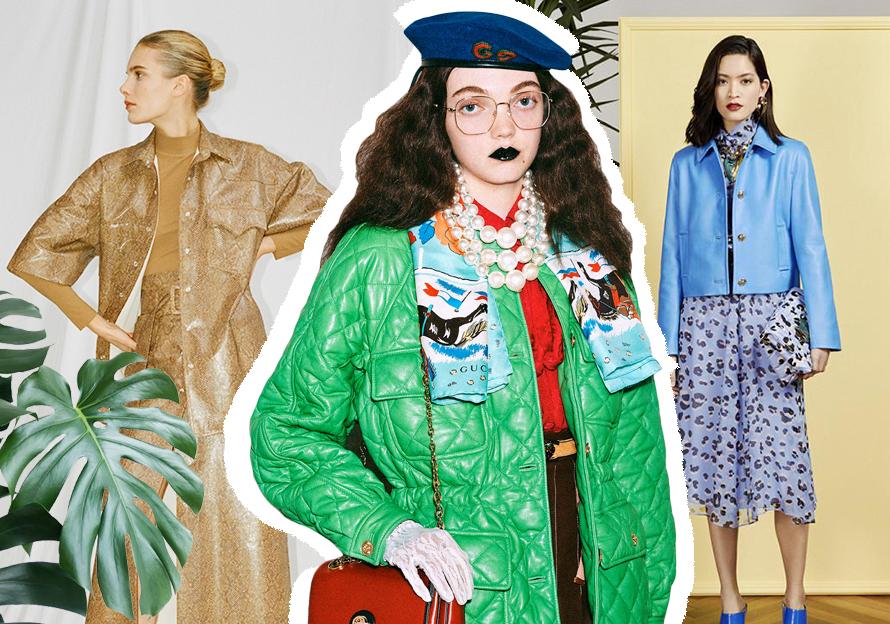 本季皮衣皮草款式主要以大衣和风衣为主,同时将女性化与硬?#26159;?#22937;混搭,生动地诠释了都市摩登女性独立自信的精神和个性鲜明的态度。