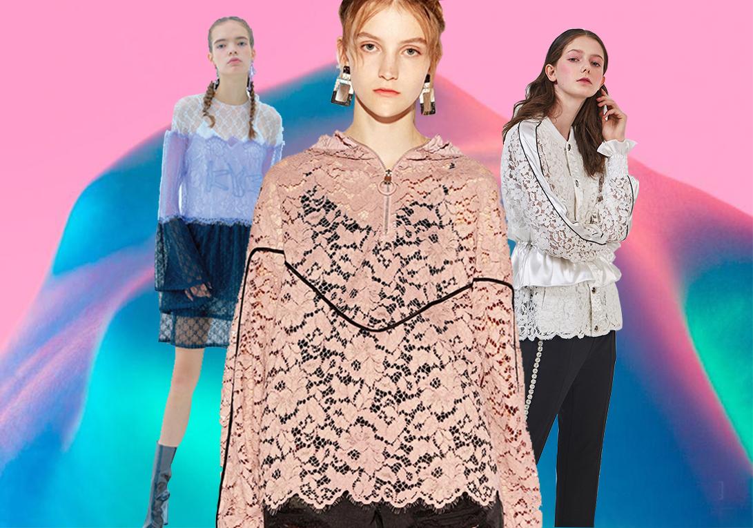 2020春夏女装蕾丝面料趋势--潮雅共赏