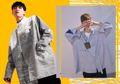 2020春夏男装廓形趋势预测--设计师潮感衬衫