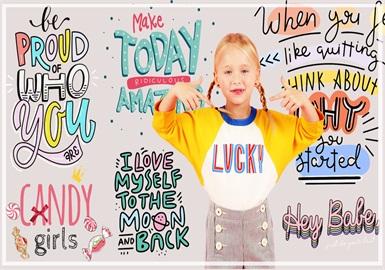 童趣宣言--女童童裝圖案趨勢