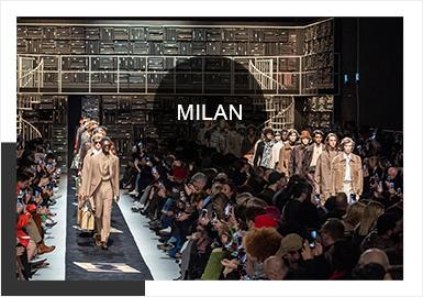 近年来,随着男女装界限模糊,无性别风走俏,男装的流行元素重新成为时尚潮流的风向标之一。大牌云集的2019秋冬米兰男装周的秀场,男女混秀、精彩纷呈。