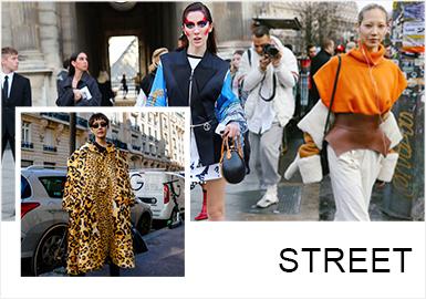 在19/20秋冬巴黎時裝周中,生人勿靠近的女權感受讓街拍的氛圍多了氣場全開的魔力,其中芭比粉、迷惑紅、獸紋、別樣鏤空、流蘇加持、女權腰封、柔性混搭等讓女性的干練、高冷得到更多維度的釋放。