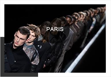巴黎时装周(Paris Fashion Week)起源于1910年,由法国时装协会主办。法国时装协会成立于19?#20848;?#26411;,协会的最高宗旨是将巴黎作为世界时装之都的地位打造得坚如磐石。本季19/20AW巴黎男装时装周?#24425;?#21560;引了Givenchy、Balenciaga、Dior Homme、Louis Vuitton等高奢品牌的走秀。