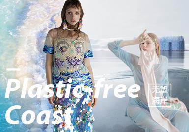 无塑海岸--2020春夏女装主题面料趋势预测