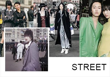 19/20秋冬首尔时装周落下帷幕,首尔潮人们的穿搭一直有自己的风格调性,狂热的街头造型逐渐让位,没有太过堆叠的色彩,夸张的朋克造型在女性的独特魅力之下更显柔和。局部亮色的点缀搭配,服从于整体的造型,简约廓形的套西,辅以低调浪漫的灰蒙色彩,春天的气息扑面而来,女性越来越硬朗的造型,无性别主义的风潮逐渐涌起,女孩儿们不再拘泥于刻板的形象,一起酷,一起美,闺蜜穿搭造型同样亮眼。