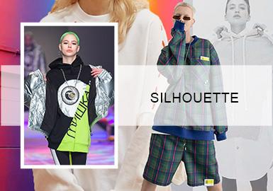 """""""未""""衣新塑--女装卫衣廓形趋势"""