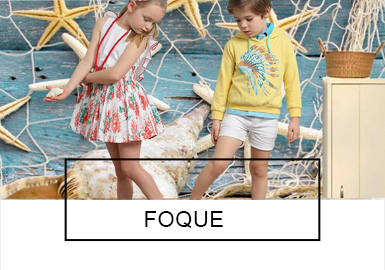 FOQUE是源自西班牙的婴童时尚品牌,拥有0-12岁的高品质时尚的婴童系列,为18个国家超过1500多个品牌集成店提供高品质货源。多品牌婴童时尚店将FOQUE视为新颖而最有特点的童装品牌。