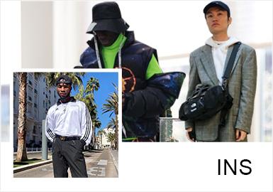 混搭已成为当今社会年轻人喜爱的一种穿搭方式,不同色彩、材质、单品等的混搭呈现不同的穿搭效果。集合Instagram上关注度较高的时尚博主Anthony Urbano、BRANDON TRAN、Christ Jadore、Jordan Tupak、Youxu Wang的穿搭,可做为一种借鉴,穿出属于自己的独特风格。