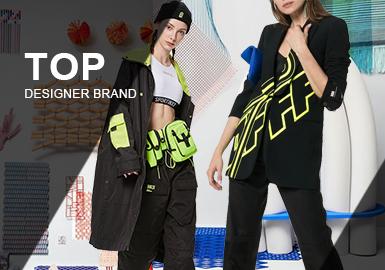"""在本季的數據顯示中輕奢風格任然占據大部分市場,其次微潮和解構各占據20%。隨著時尚的多元化,以及品牌的不斷更新迭代,年齡、風格不是是時尚道路的""""阻礙著""""。在品牌的風格中,輕奢依舊是女裝市場火熱的風格代表,休閑風也出現了更多的品牌,并且帶有休閑風格的品牌更加受客戶關注。"""
