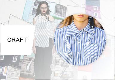 創意裁剪--女裝襯衫工藝趨勢
