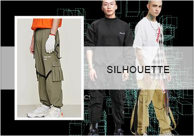 时尚街潮--男装工装裤廓形趋势