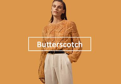 焦糖奶油--女裝毛衫單色彩趨勢