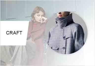 独特裁剪--女装大衣裁剪工艺趋势