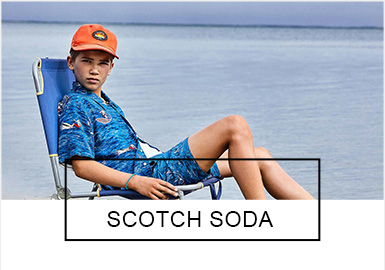 Scotch&Soda是一家?#34923;?#30340;时尚时装公司,成立于1985年。2019季?#21512;腟cotch&Soda灵感主要来自于混搭式复古、夏日冲浪运动、热带植被以及海?#25509;?#38596;布鲁图斯。与去年?#21592;?#26893;物类元素增多,文字类元素有所?#38470;怠?#21697;牌目前在?#20998;蕖?#32654;国、澳洲和日本销售,是当地时尚年轻人的首选。