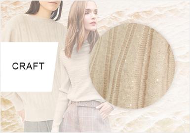 精密空间--女装毛衫工艺趋势