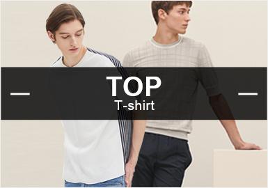 新季的各大品牌在現代經典與品質設計的銳意碰撞,為崇尚簡約的都會男士提供了更為廣闊的創作空間,根據POP6月男裝毛衫款式庫數據分析,商務休閑以過半的優勢強占風格占比核心,引人關注。在圖案領域,色塊的超高占比體現出該元素在時尚休閑與商務休閑兩大風格的應用中均有著出色的發揮,深受市場青睞。工藝方面,拼接設計在毛衫中的運用更加注重不同材質的碰撞,呈現張弛相宜的層次感。